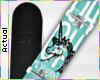 ☯ Unicorn Skateboard