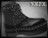 -X K- N Black Boots M