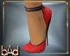 Red and Sequin Heels