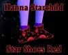Star Shoes Red