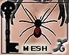 !X Spider Necklace Femal