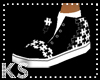 {K} Puzzle Black Laceles