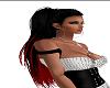 black\red long