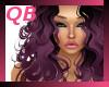 Q~Cecilia Purple Ombre