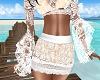 REQ-Peach Lace Skirt