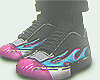 ''F'' Flame Shoes