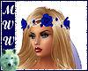 Sapphire Rose Veil