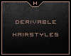Derivable Hairstyles