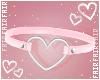 F. Choker Heart Pinku