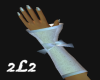 2L2 Satin-Lace Gloves