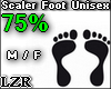 Scaler Foot Unisex 75%