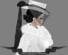 Riding Hat/white