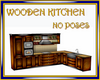 Wooden Kitchen no poses