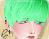 Jelly Green Cas Hair
