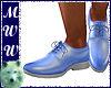 Lt Blue Dress Shoes