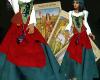 (MSis) Green Gypsy Skirt