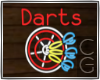 CG | Neon Darts Sign