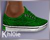 K green sneaker xmas
