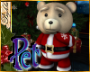 I~Pet Sugar Santa Bear