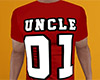 Uncle 01 Shirt Red (M)