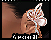 [A] Silk Pink Butterfly