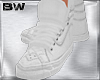 White Leather Sneakers H