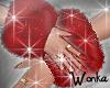 W° Red Fox Fur Cuffs