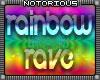 Rainbow Rave Room