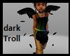 Kids Dark Troll Feathers