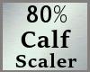 80% Calf Calves Scale MA