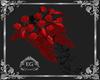 Bouquet red black