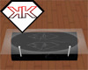 Black Marble Glass Table