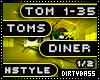 1 Toms Diner Hardstyle