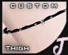 Jos~ Right Thigh Garter