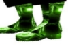 green toxic boots M
