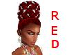 Red Diamond Updo