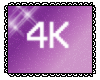 4k Support Sticker