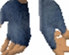 Grey-Blue Gloves
