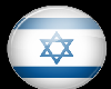 Isreal Button Sticker
