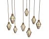 (BL)Hanging lights GOLD