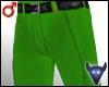 Dress pants green (m)