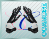 Bunny White cuffs