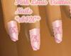 Pink Louis  nails