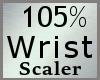 Wrist Scaler 105% M A