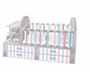 crib white m/f