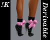 !K! Stiletto Boots2 mesh