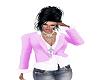 Jacket n Top Pink