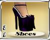 Fashion purple shoes