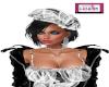 Claire Hair/Beret Black1