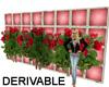 Flower Trellis Wall